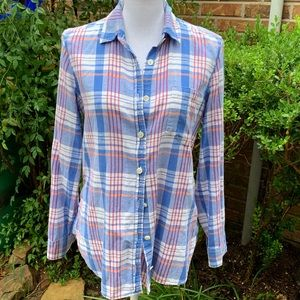 J. Crew Tops - J.Crew Fall Button up Size 8